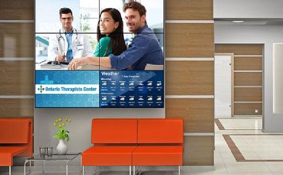telewizory reklamowe dla branży medycznej