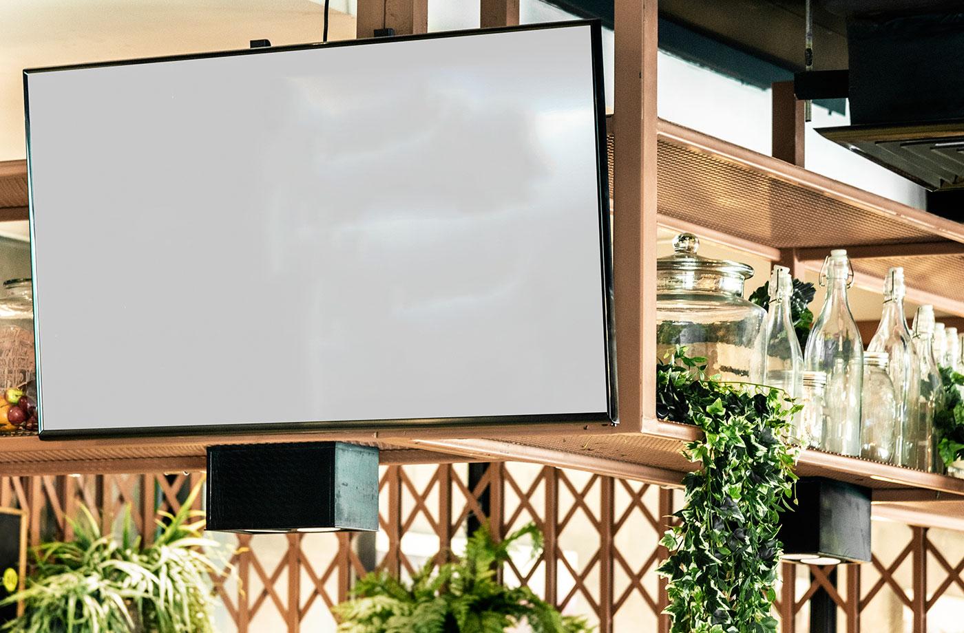 monitory reklamowe do gastronomii menuboard