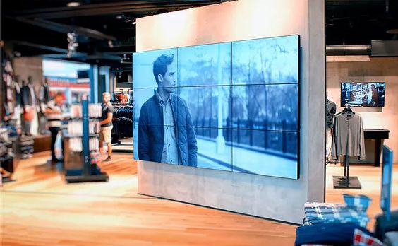 ścianki wideo z monitorów