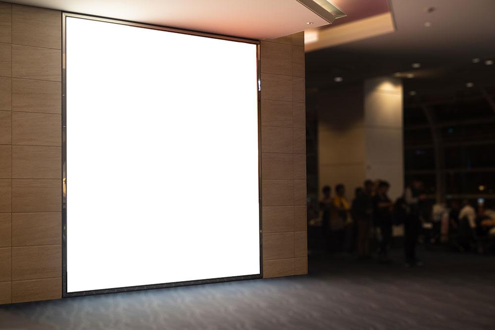 ściana wideo reklamowa